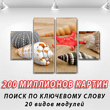 Модульные картины на кухню на Холсте, 80x130 см, (40x30-2/80х30-2), фото 2