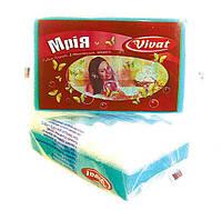 """Мочалка губка для ванной и бани Vivat """"Мрія"""" из поролона (140×90×48 мм)"""