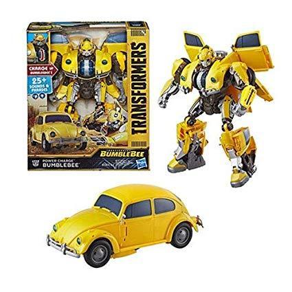 Интерактивный трансформер Бамблби 27 см, свет, звук, Transformers: Bumblebee Power Charge, Hasbro из США