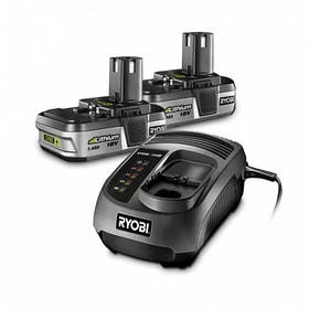 Аккумуляторы и зарядное устройство RYOBI BLK18152