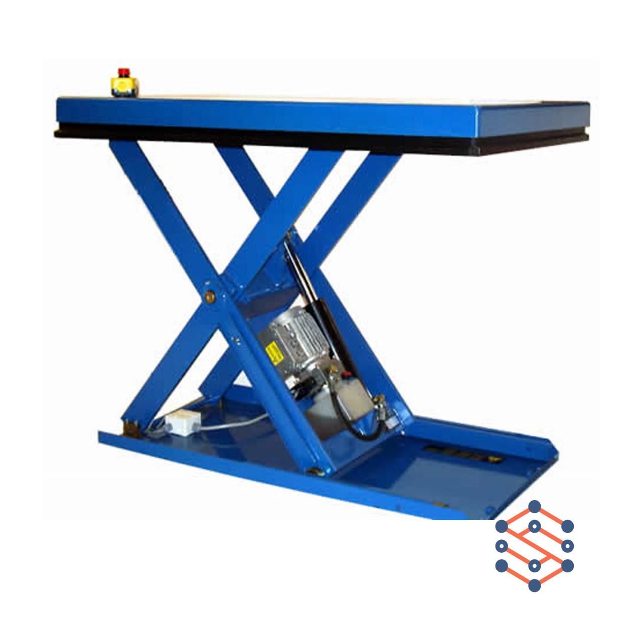 Подъемный стол низко размерный