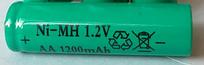 Аккумулятор  1.2В 1200мАч Ni-MH