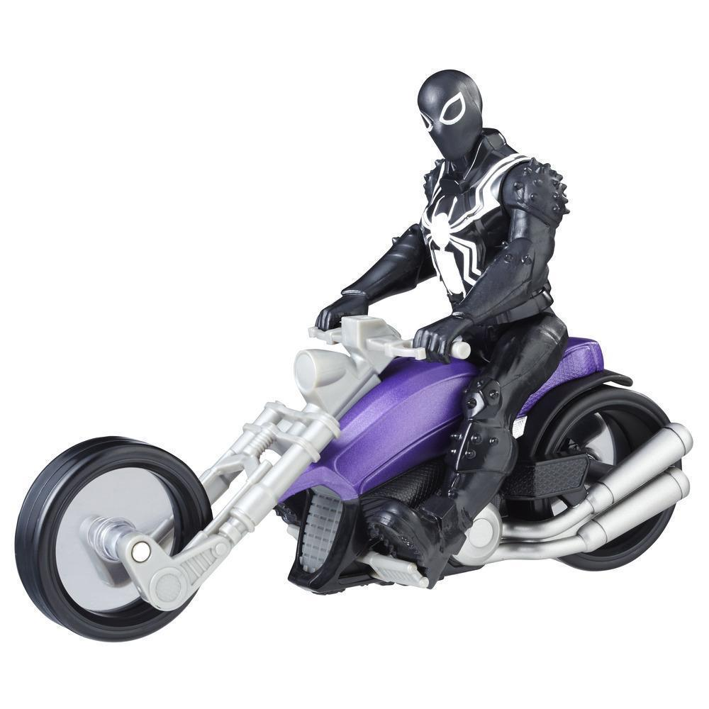 Набор Фигурка Веном на мотоцикле, Marvel Agent Venom with Symbiote Cycle, Hasbro Оригинал из США