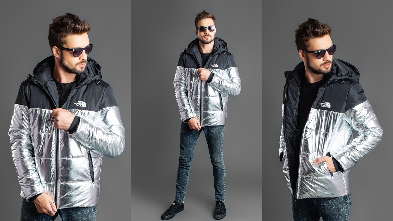 Стильная зимняя куртка мужская