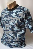 Мужская камуфляжного цвета футболка ., фото 1