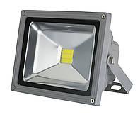 Светодиодный прожектор LEDEX 50W, 220V, IP65, 4000lm, 6500K белый холодный