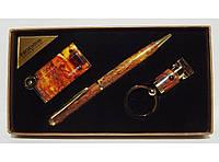 PN3-53 Подарочный набор NOBILIS: зажигалка+ ручка + брелок фонарик??, Сувенир, Брелок фонарик для ключей