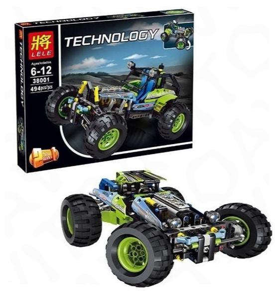 """Конструктор Lego Автомобиль Джип 2 в 1 - серия """"Супер Машины"""" 494 детали"""