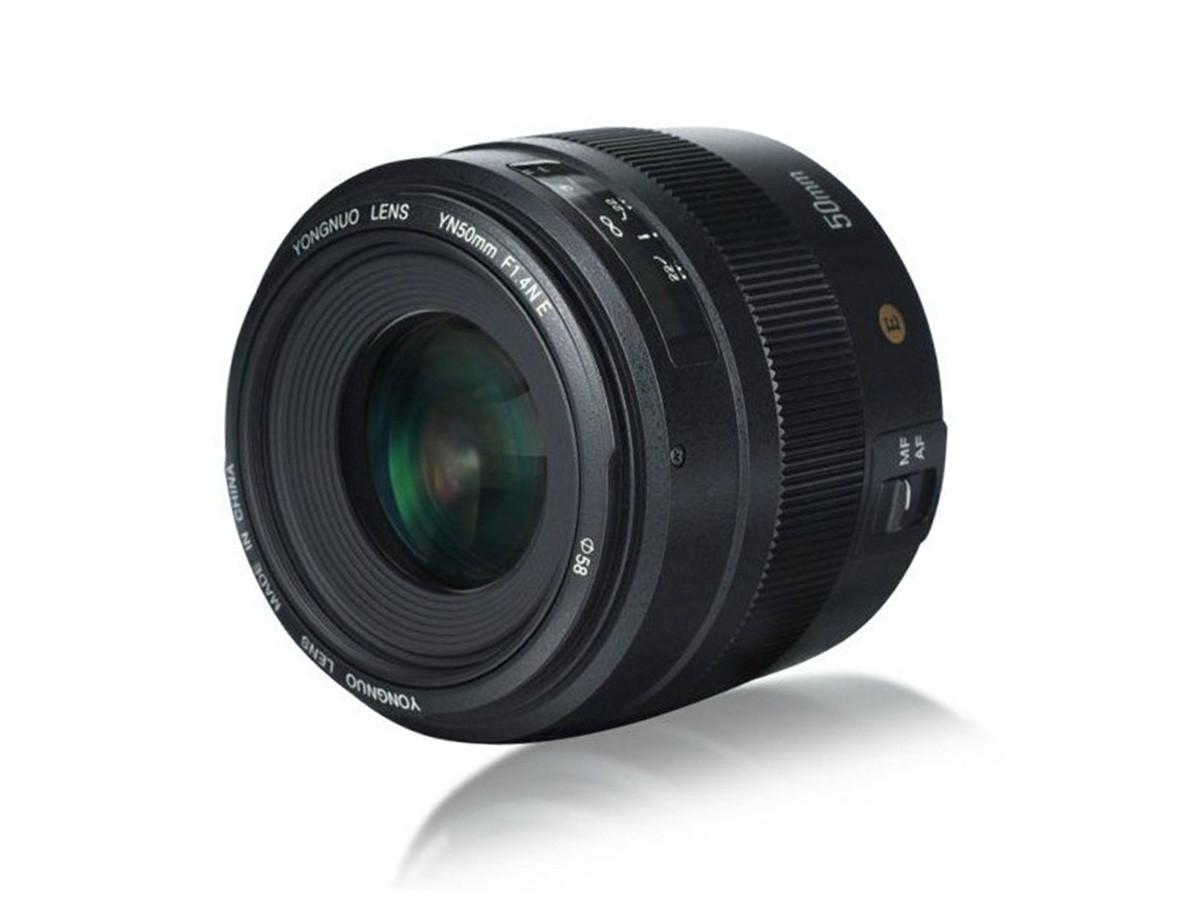 Объектив YONGNUO YN 50mm F/1.4N E для Nikon