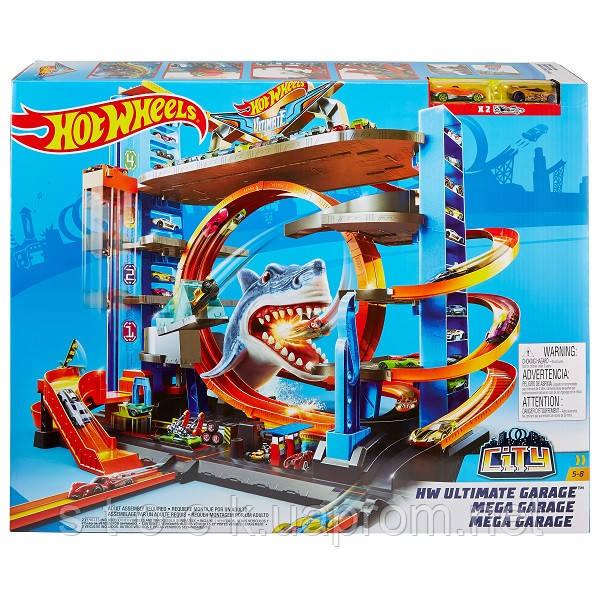 Mattel Hot Wheels FTB69 Хот Вілс Сіті Неймовірний Мега гараж