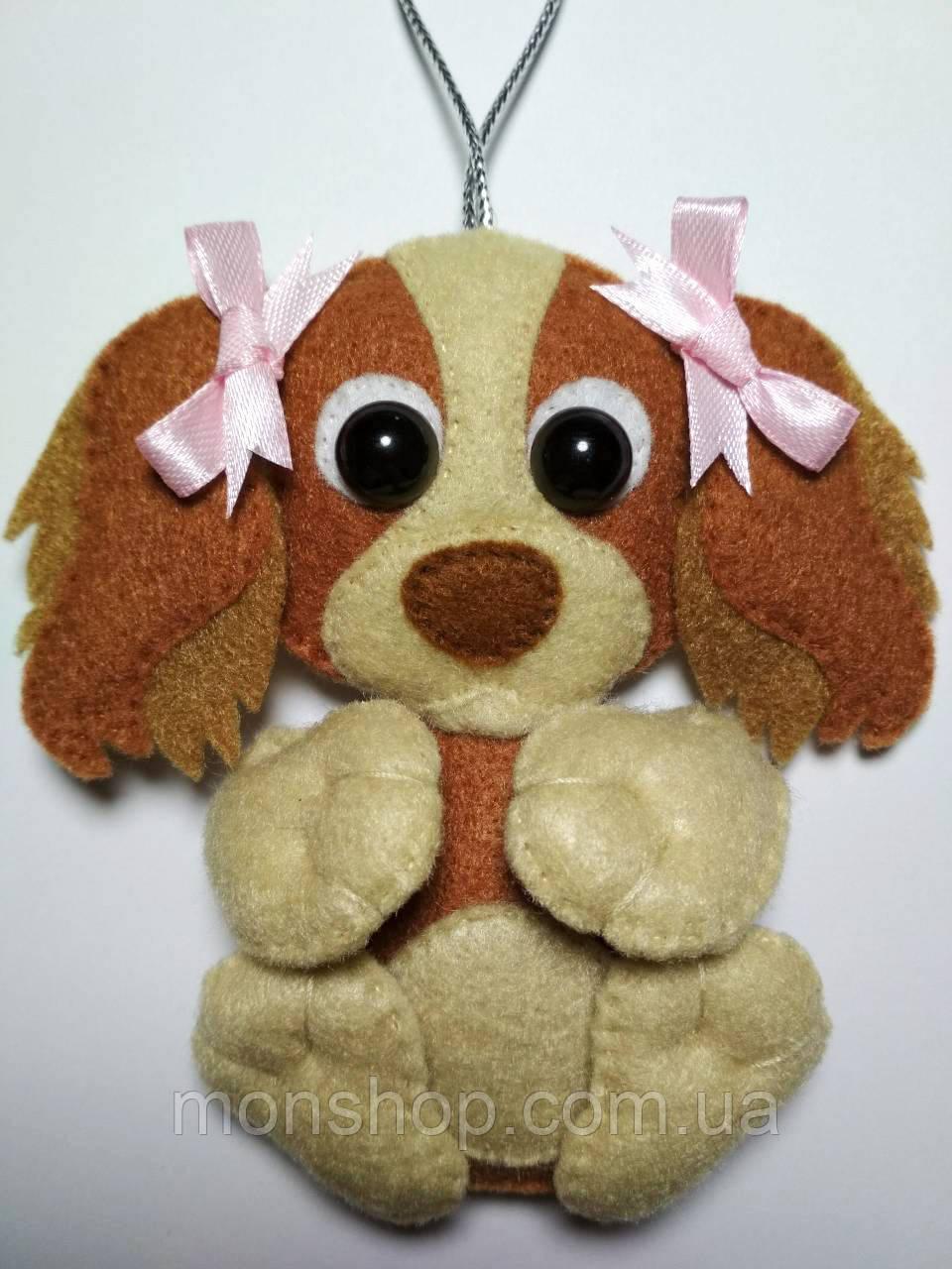 Собака девочка