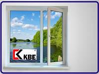 Купить Окна КВЕ (Германия) в Киеве 1300х1400 без монтажа