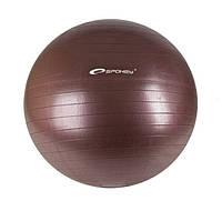 Профессиональный фитбол с насосом Spokey Fitball ll 75 см Коричневый