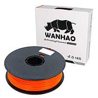 Пластик для 3D печати Wanhao PLA, 1.75 мм, 1 кг, оранжевый