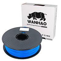 Пластик для 3D печати Wanhao PLA, 1.75 мм, 1 кг, синий
