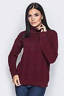 Тёплый вязаный свитер под горло Kristian, фото 1