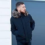 Чоловіча зимова куртка, чорного кольору., фото 10