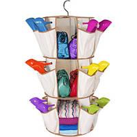 Органайзер для одежды и обуви Карусель