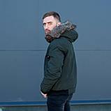 Чоловіча зимова куртка, кольору хакі., фото 10