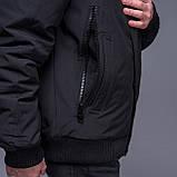 Чоловіча зимова куртка, кольору хакі., фото 4