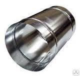Кожух для труб оцинк. 0.5мм, для D 159мм, толщина изоляции 30мм, фото 1