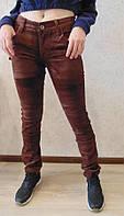 Женские вельветовые брюки, фото 1