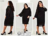 Нарядное женское платье в большом размере р. 58.60.62.64.66, фото 3