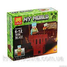 Набор Конструктор minicraft My world 4 щт в наборе, фото 3