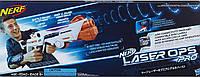 Новинка 2018 год! Бластер лазерный прицел, свет, звук, Nerf Laser Ops Delta Combat Blaster, из США, фото 1