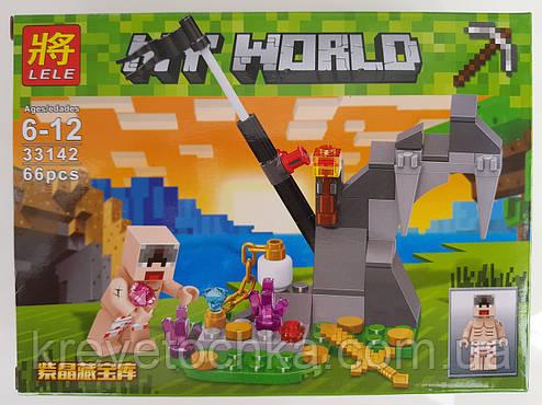 Набор Конструктор minicraft My world, фото 2