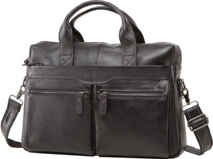 Сумка мужская Vintage 14579 Черная
