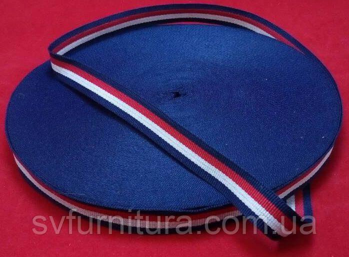 Стропа №9 синий красный Ширина: 2 см