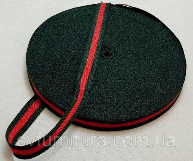 Стропа А1 зеленый красный Ширина: 2.5 см