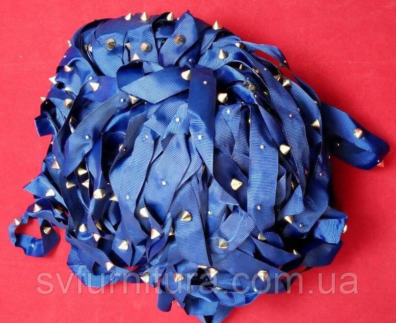 Лента декор С701 конус синий
