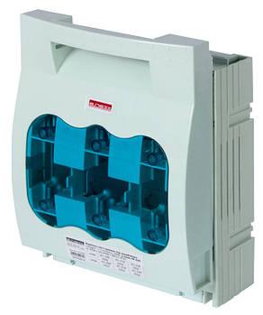 Выключатель-разъеденитель под предохранитель  e.fuse.VR.250, габарит 1, 3 полюса, 250А