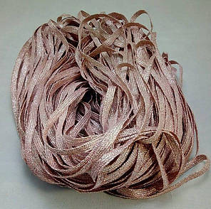 Лента Н пудровый Ширина: 0.6 см