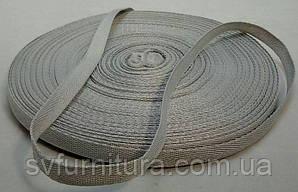 Лента киперная серый 1 см