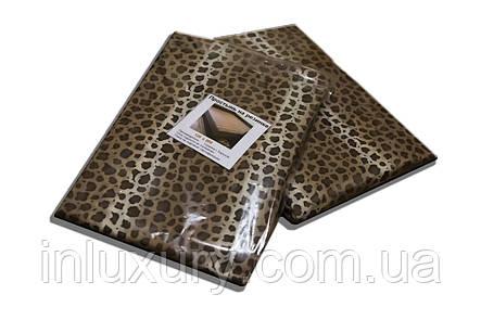 """Простынь на резинке """"Леопард"""" 160х190х20 , фото 2"""