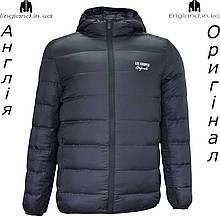 Куртка Lee Cooper осенняя - демисезонная мужская черная