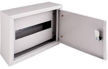 Корпус металлический e.mbox.pro.n.18z IP31 навесной на 18 модулей с замком