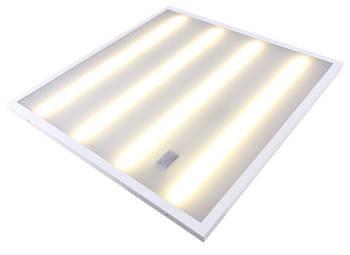Светильник светодиодный с опаловым рассеивателем e.LED Surface 600 Opal, 36Вт, 4500K, 3000Лм, IP20, 595х595х27мм