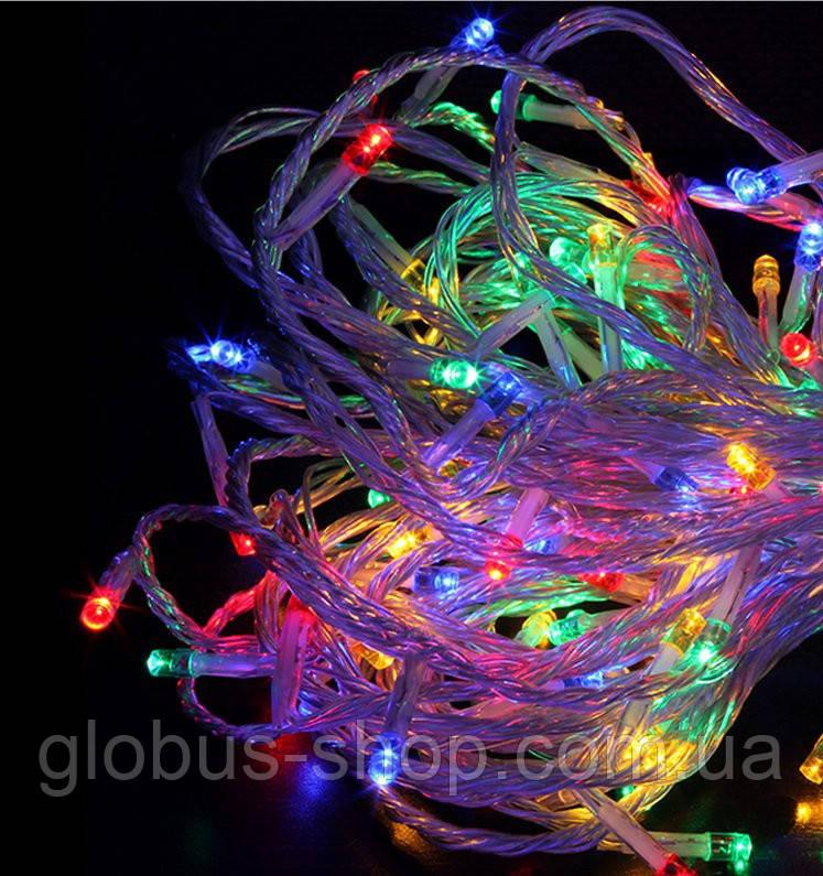 Гирлянда диодная 300 LED, разноцветная
