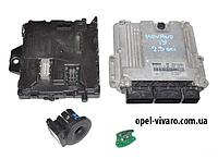 Блок управления двигателем комплект 2.3DCI rn Opel Movano 2010-2018 0281019382 237102265R
