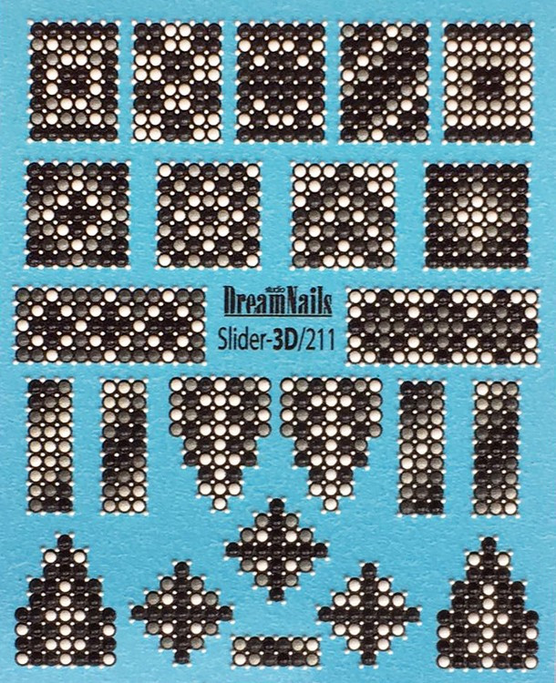3D Слайдер Dream Nails, 211