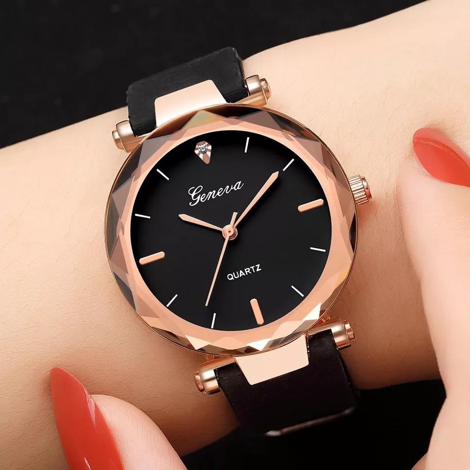 9748a91a Женские красивые часы с черным ремешком - интернет-магазин VERONIKA-SHOP в  Николаеве