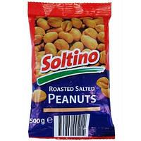 Арахис жареный подсоленный Roasted salted Peanuts (Польша) 500г
