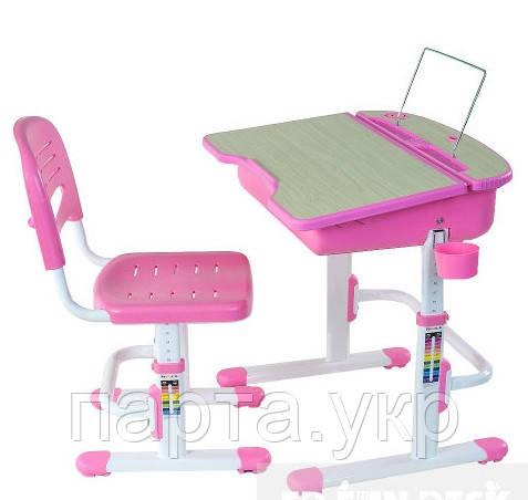 Парта и стул-трансформеры Pink