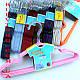 Детские металлические в силиконовом покрытиии плечики вешалки 31 см Все цвета, фото 3