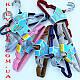 Детские металлические в силиконовом покрытиии плечики вешалки 31 см Все цвета, фото 4