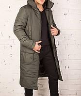 Очень теплое мужское зимнее пальто Pobedov